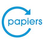 Logo recyclage papier