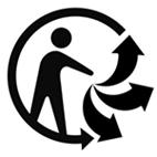 Logo recyclage triman