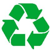 Logo recyclage ruban mobius