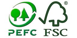 Logo recyclage pefc fsc